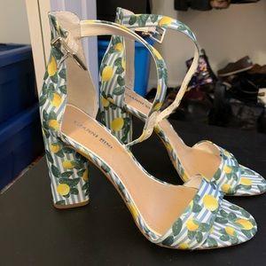Gianni Bini Size 9 Lemon Heels